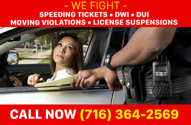 Fight Your Speeding Ticket, Call 716-364-2569 to Contact An Attorney.